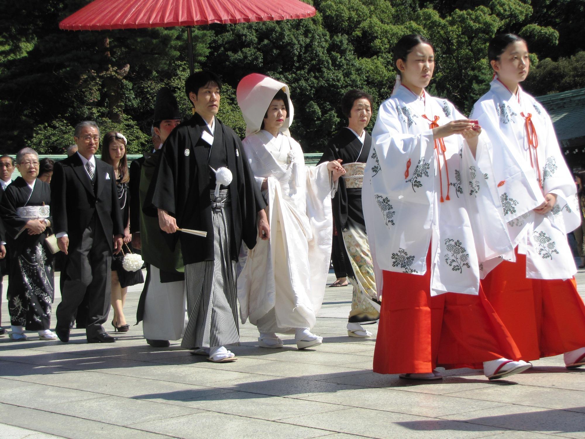 Japán esküvő