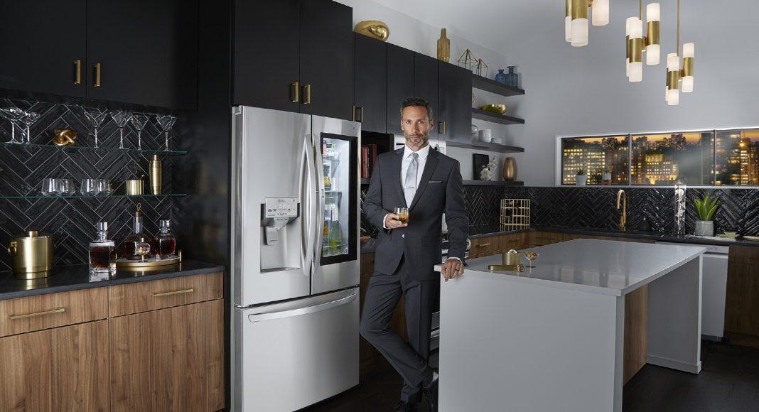 elegáns hűtőszekrény