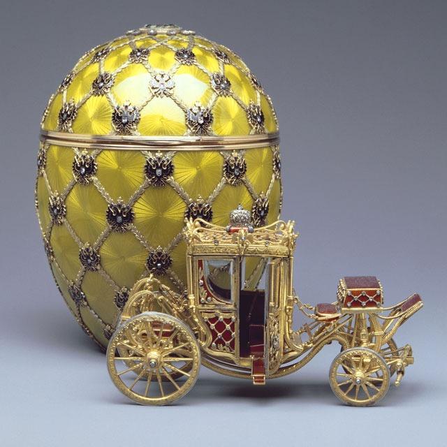 Fabergé tojás és hintó