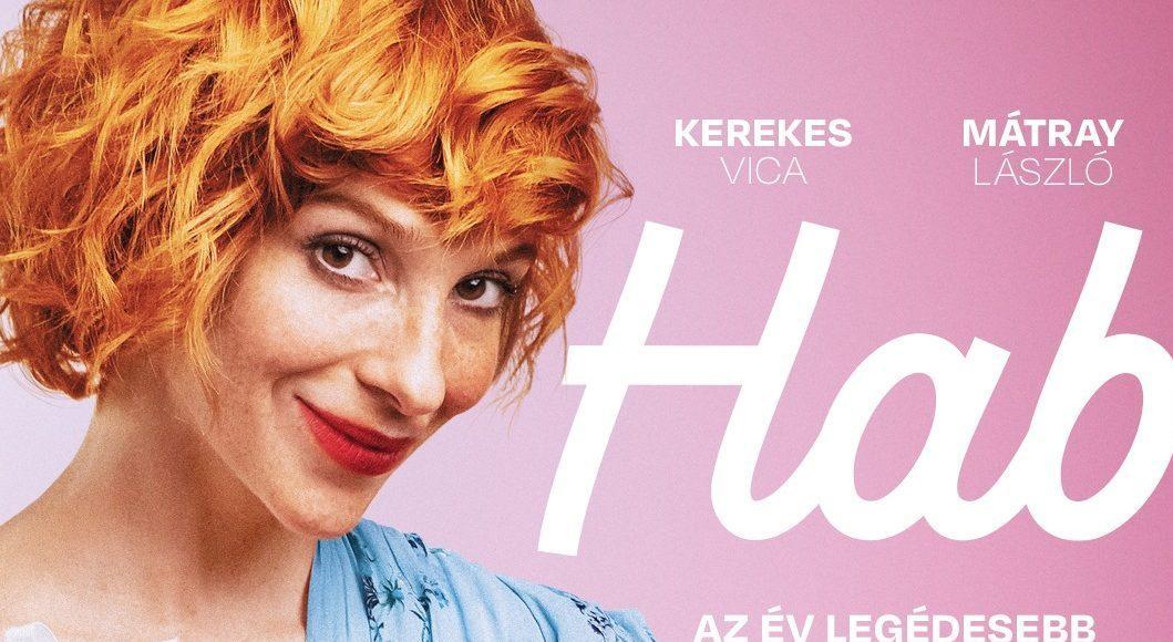 A Hab című film plakátja Kerekes Vicával