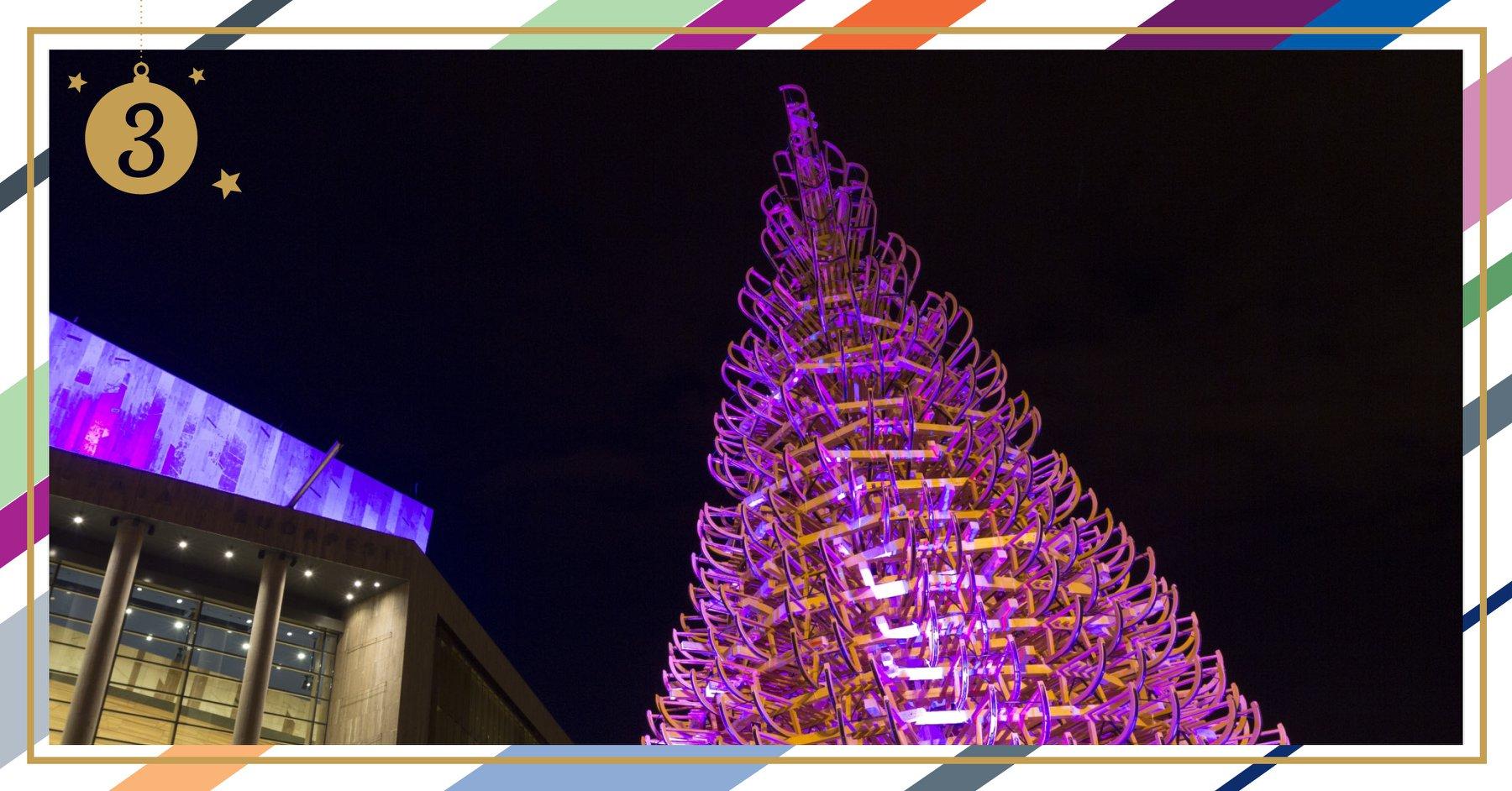 Müpa karácsonyfa