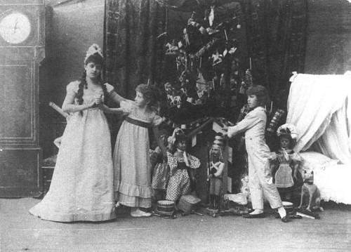 A diótörő első előadása 1892-ben Szentpétervárott