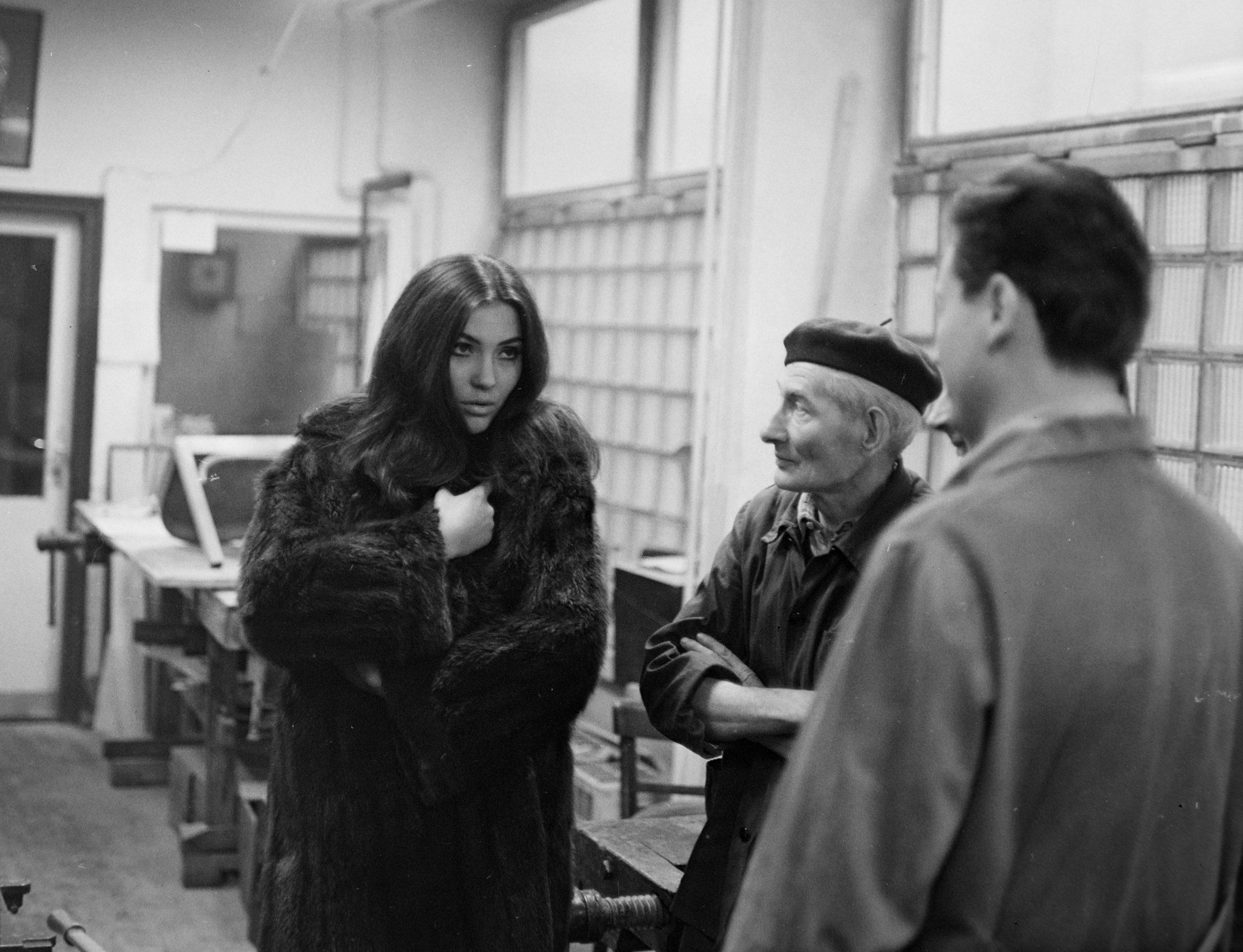 balra Pécsi Ildikó színművésznő 1966-ban Fortepan/Szalay Zoltán
