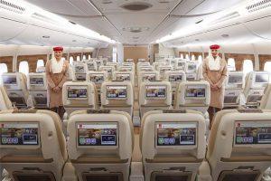Az Emirates luxusgépén 4500 csatorna közül válogathatunk.
