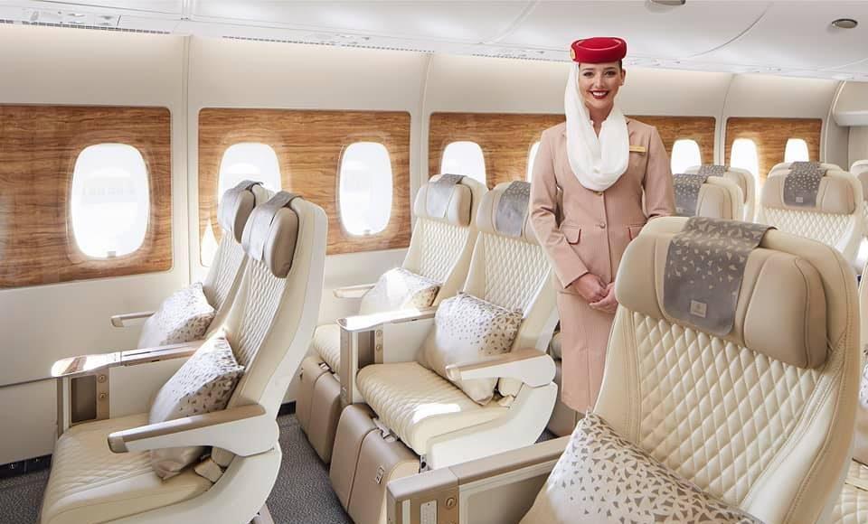Az Emirates új luxusrepülője