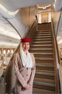 Az Emirates luxus járata