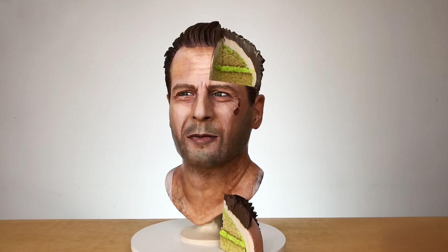 Bruce Willis torta