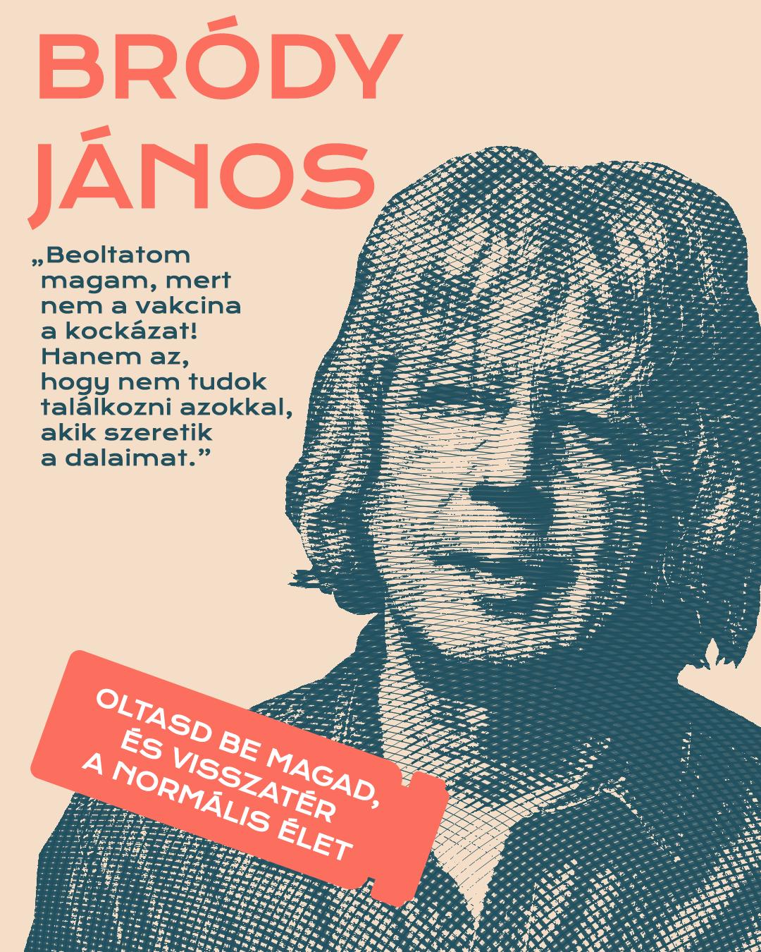 Bródy János Mok kampány