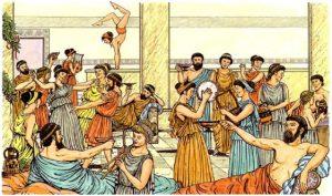 Az ókori Görögországban is tartottak farsangot.