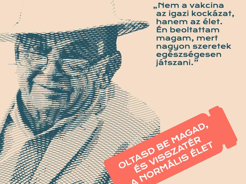 Magyar Orvosi Kamara védőoltás kampány
