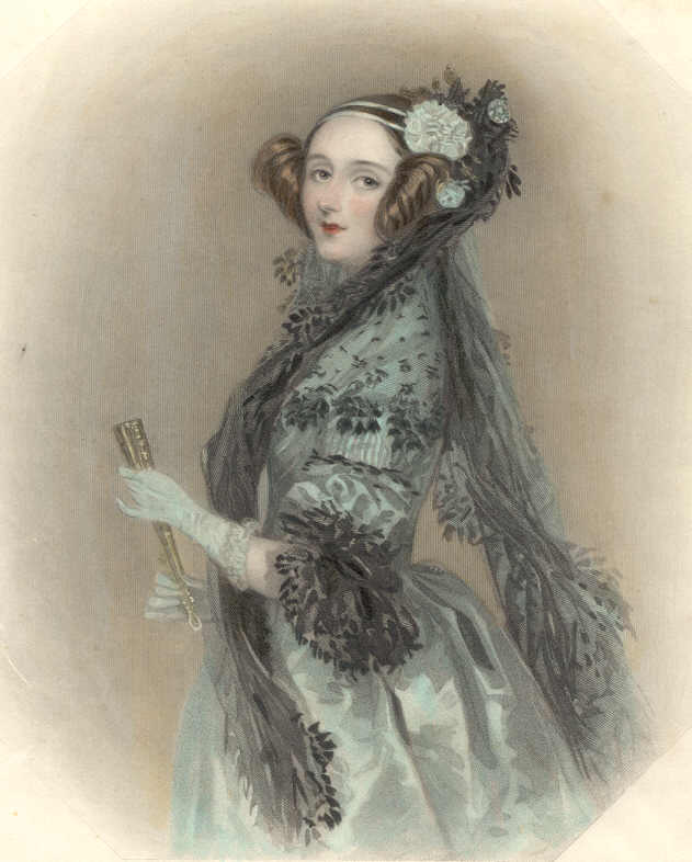 Ada Lovelace (1838) portréja
