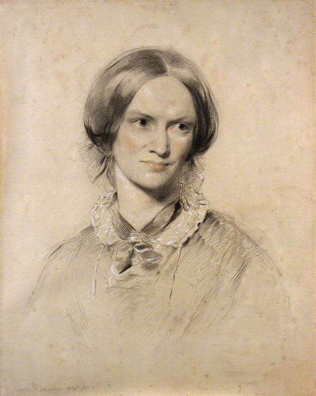 Charlotte George Richmond képén, 1850