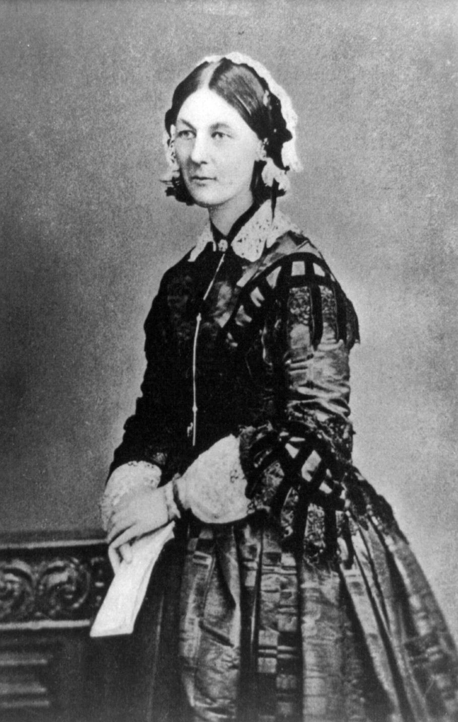 Florence Nightingale 1860 körül