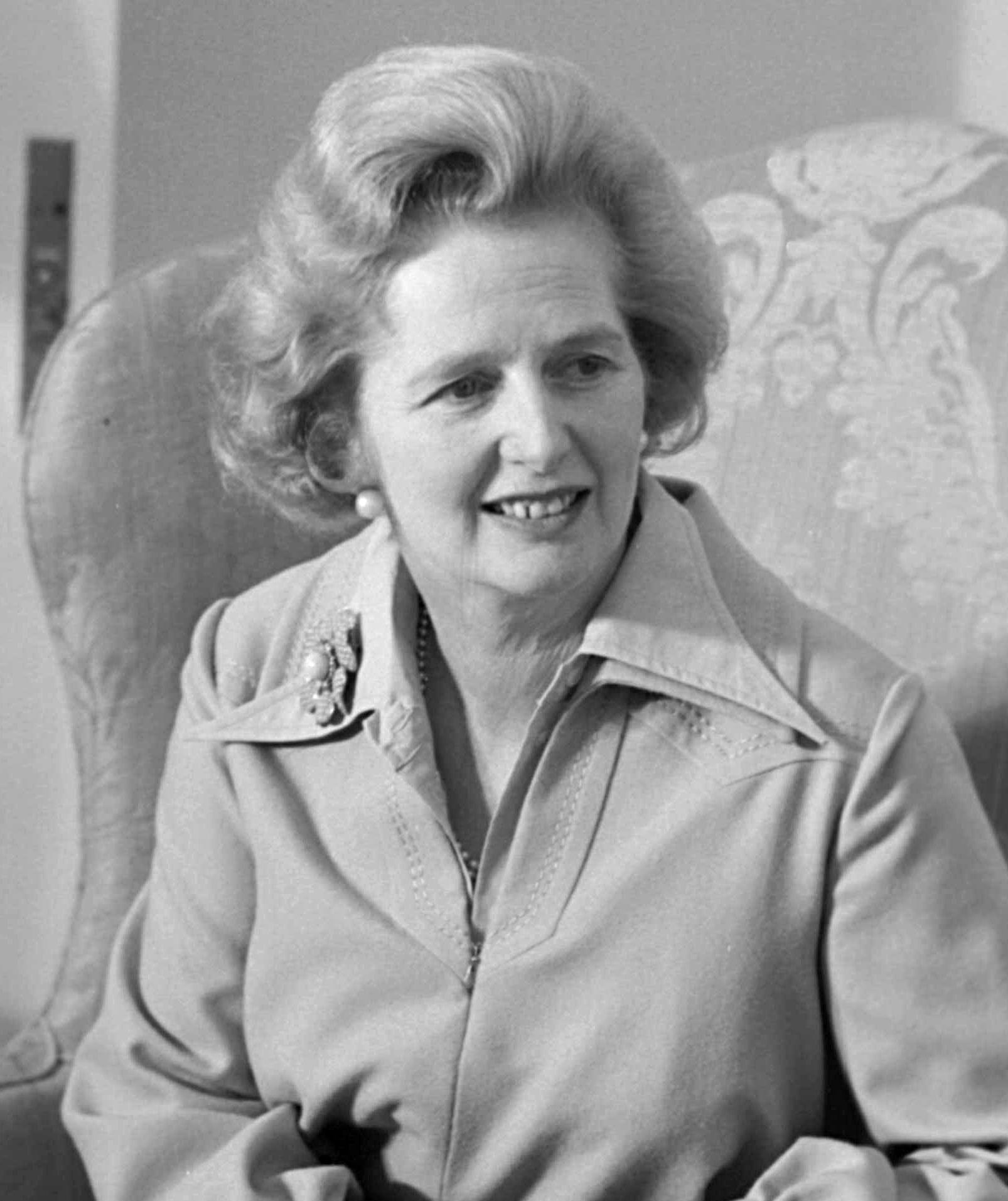 Margaret Thatcher 49 évesen