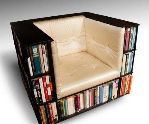 Kreativ fotel olvasáshoz
