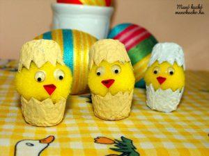 Aranyos húsvéti csibék