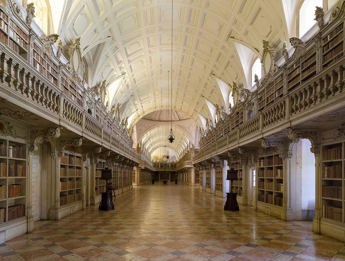 A Mafra-palota könyvtára (