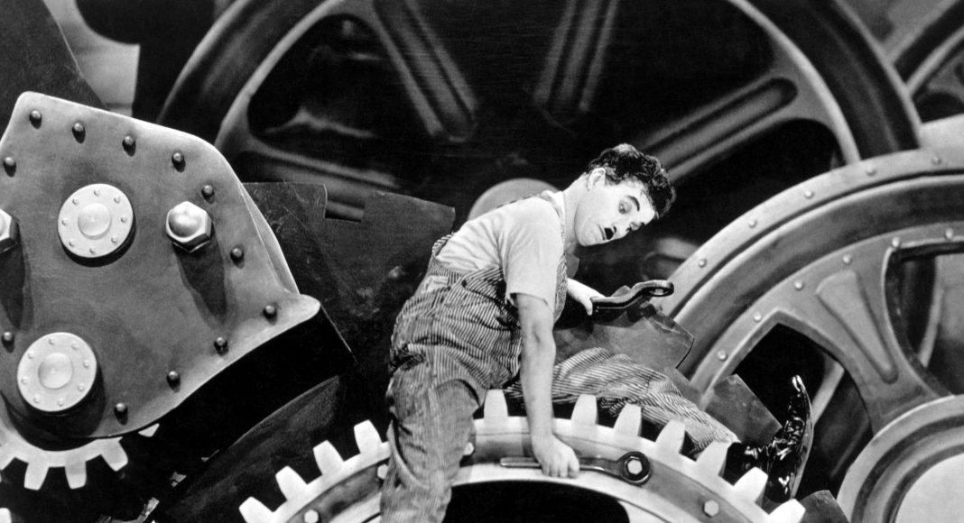Charlie Chaplin - Modern idők - 1936