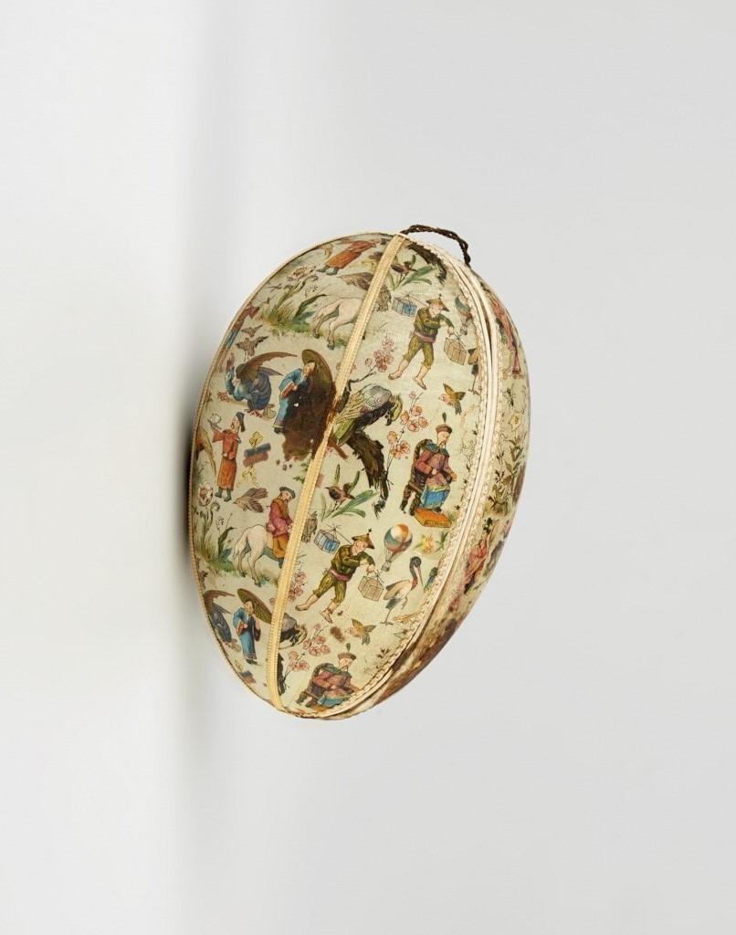 Húsvéti tojás - chinoiserie díszítéssel, Kugler Henrik cukrászdája számára - 1875-1910 - IM