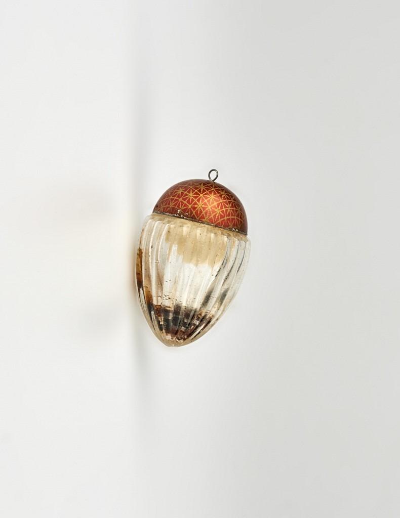 Fém és üveg húsvéti tojás - 1875-1910 - IM