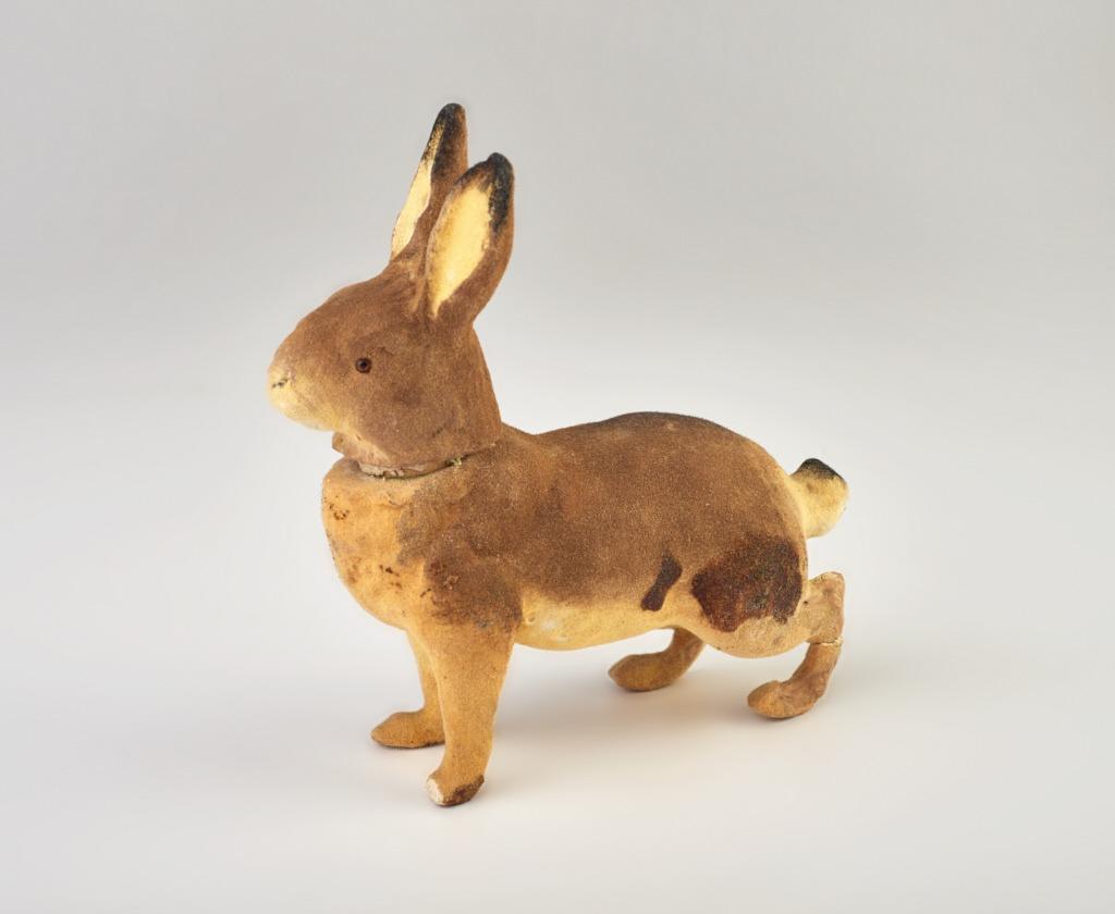 Cukorkatartó - húsvéti nyúlfigura - 1875-1910 - IM