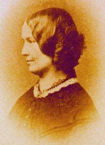 Ellen Nussey 1854-es fotója - forrás: wikipedia