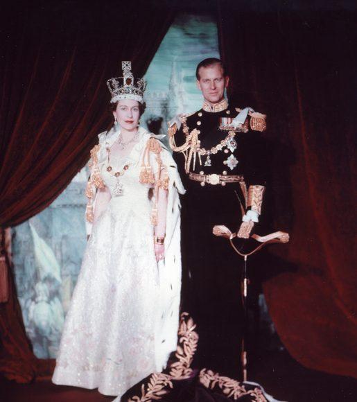 II. Erzsébet és Fülöp herceg koronázási portréja 1953-ban - wikipedia