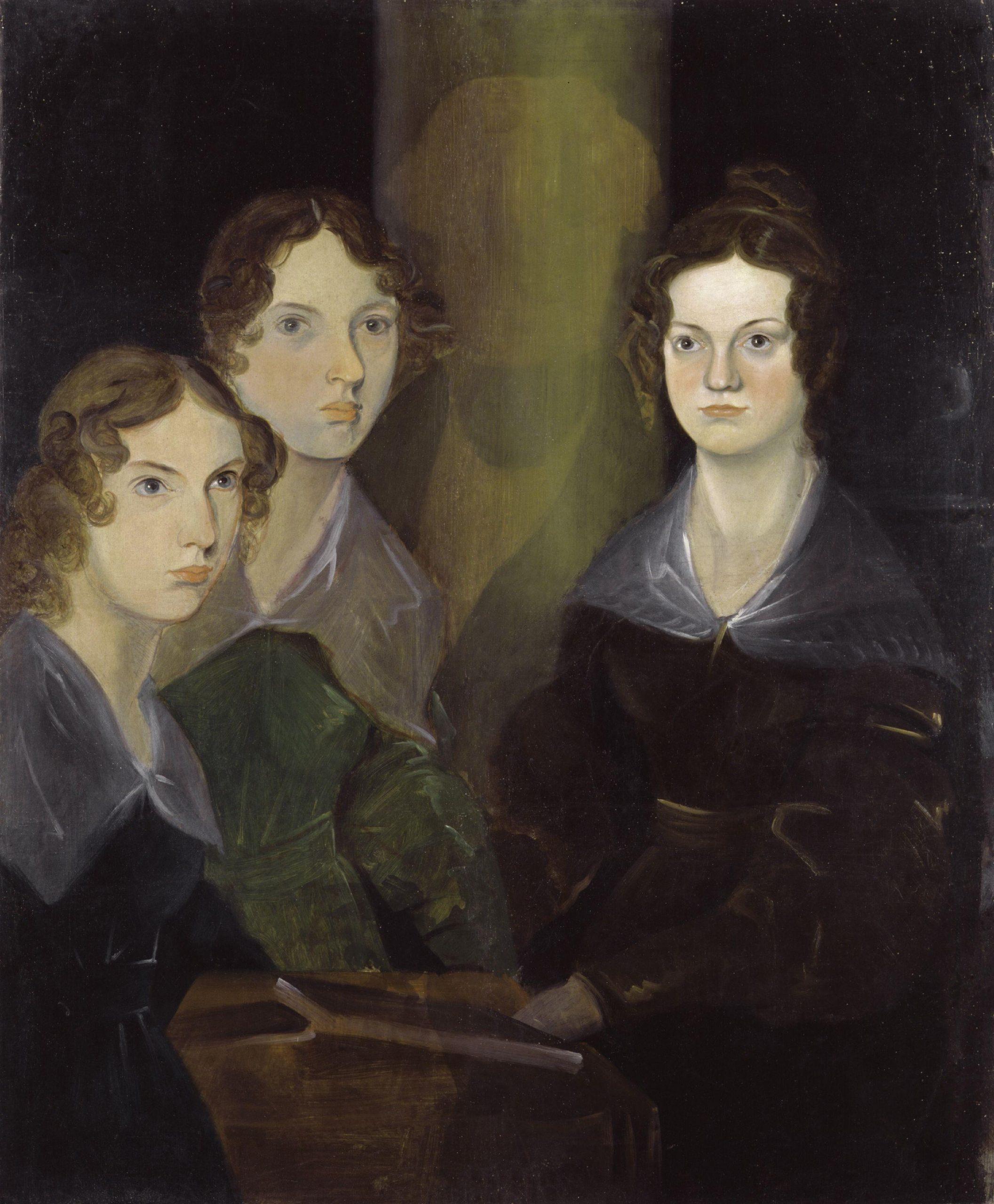 Brontë nővérek egyetlen fiú testvérük, Branwell festményén