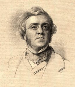 William Makepeace Thackera 1853-ban - forrás: wikipedia