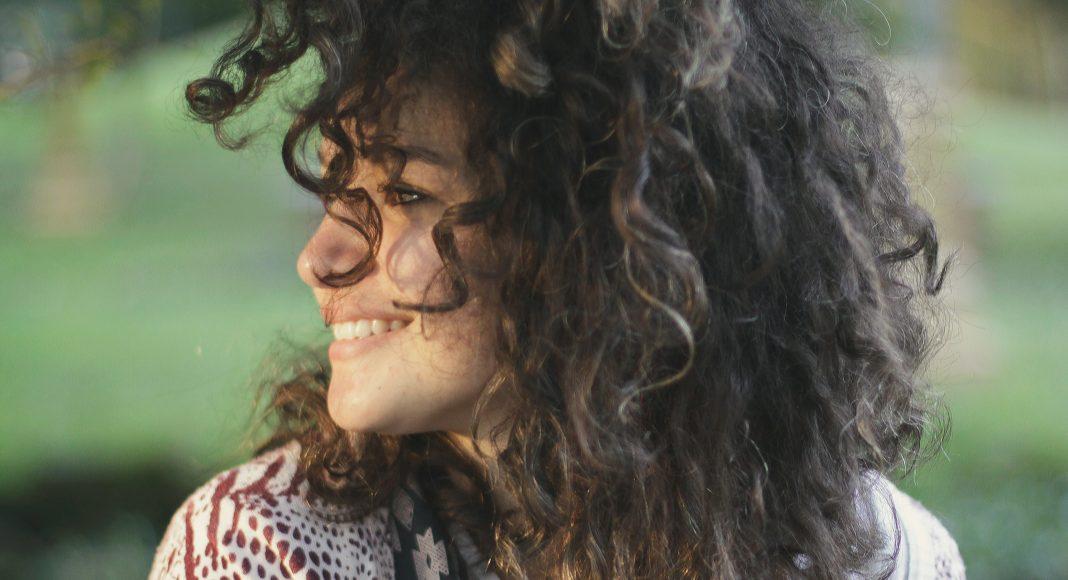 mindfulness-nő