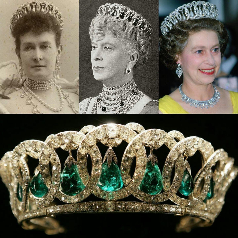 vlagyimir tiara-smaragd