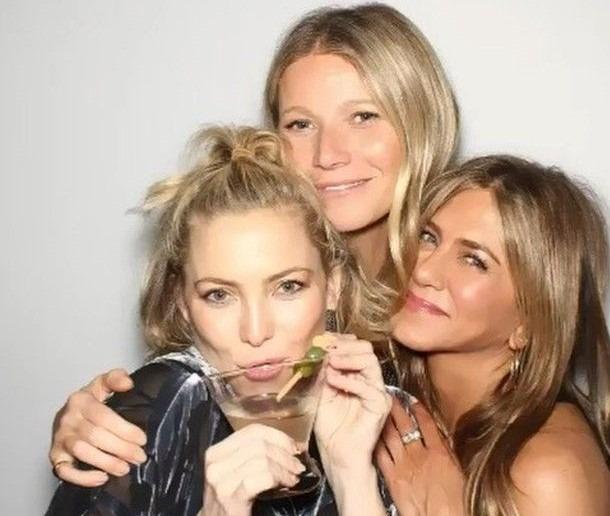 Jennifer Aniston, Kate Hudson és Gwyneth Paltrow Aniston
