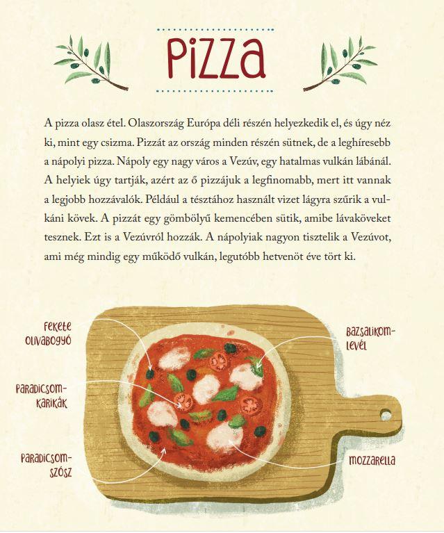 Nápolyi pizza könyv