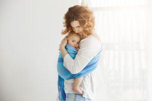 Édesanya gyermekével