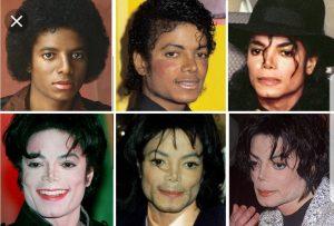 Michael Jackson átalakulása