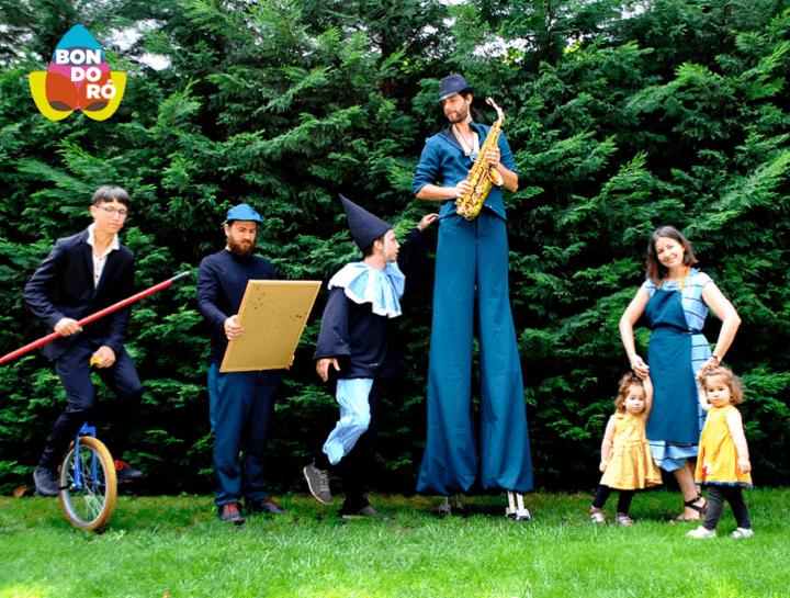 A Bondoró figurák-kapolcs-fesztivál