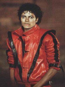 A Thriller világhírű piros dzsekije