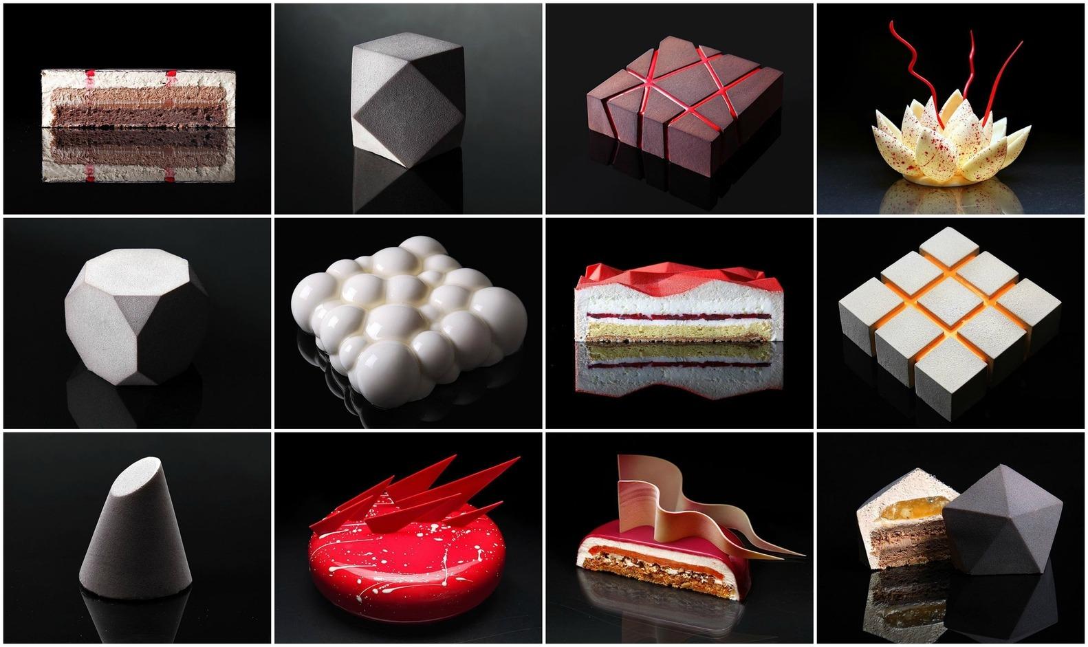 geometrikus sütemények
