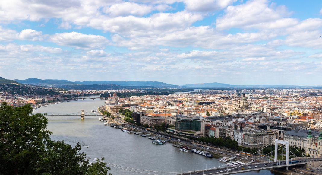 Duna folyó Budapesten