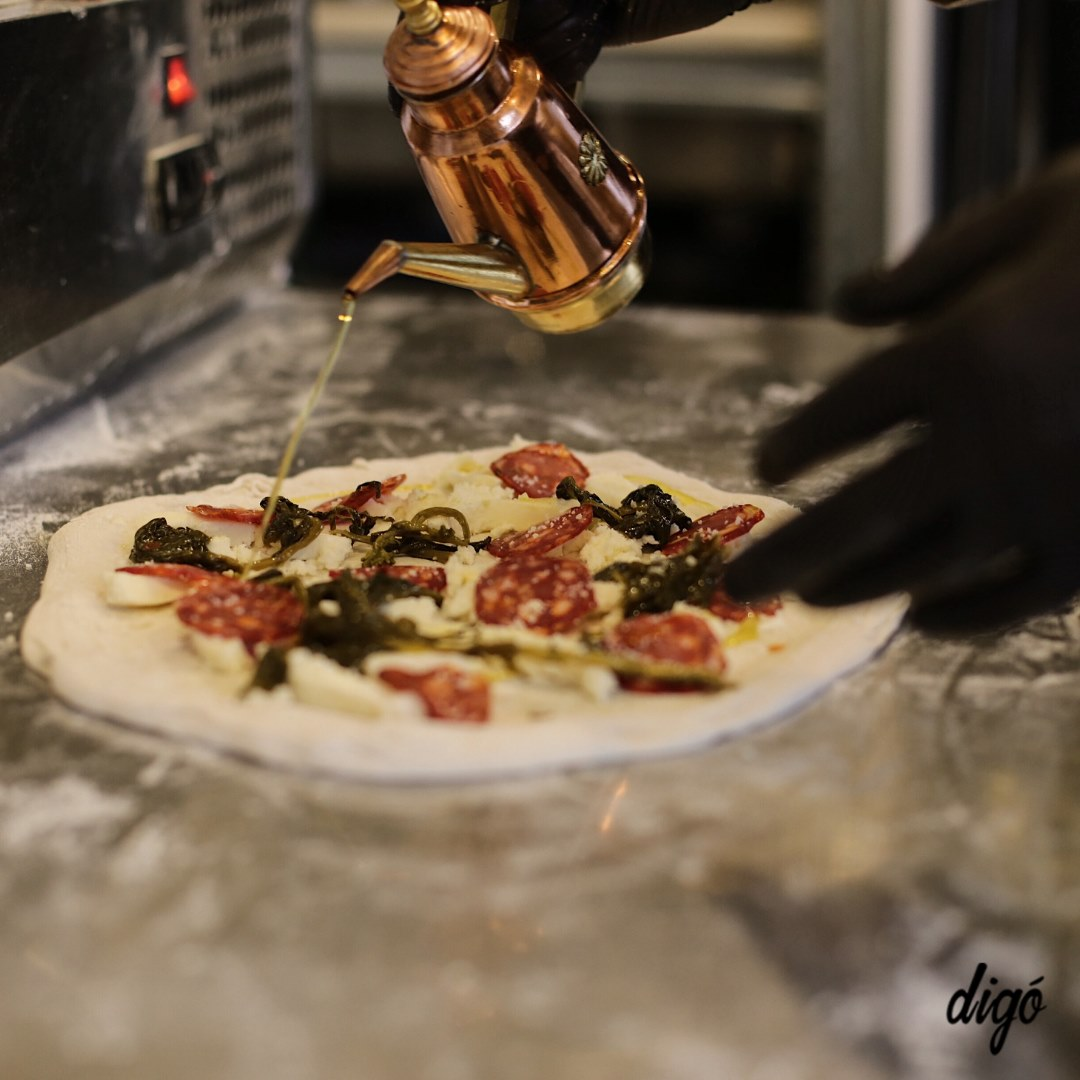 Digó pizza, finom pizza
