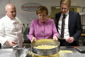 Angela Merkel főz