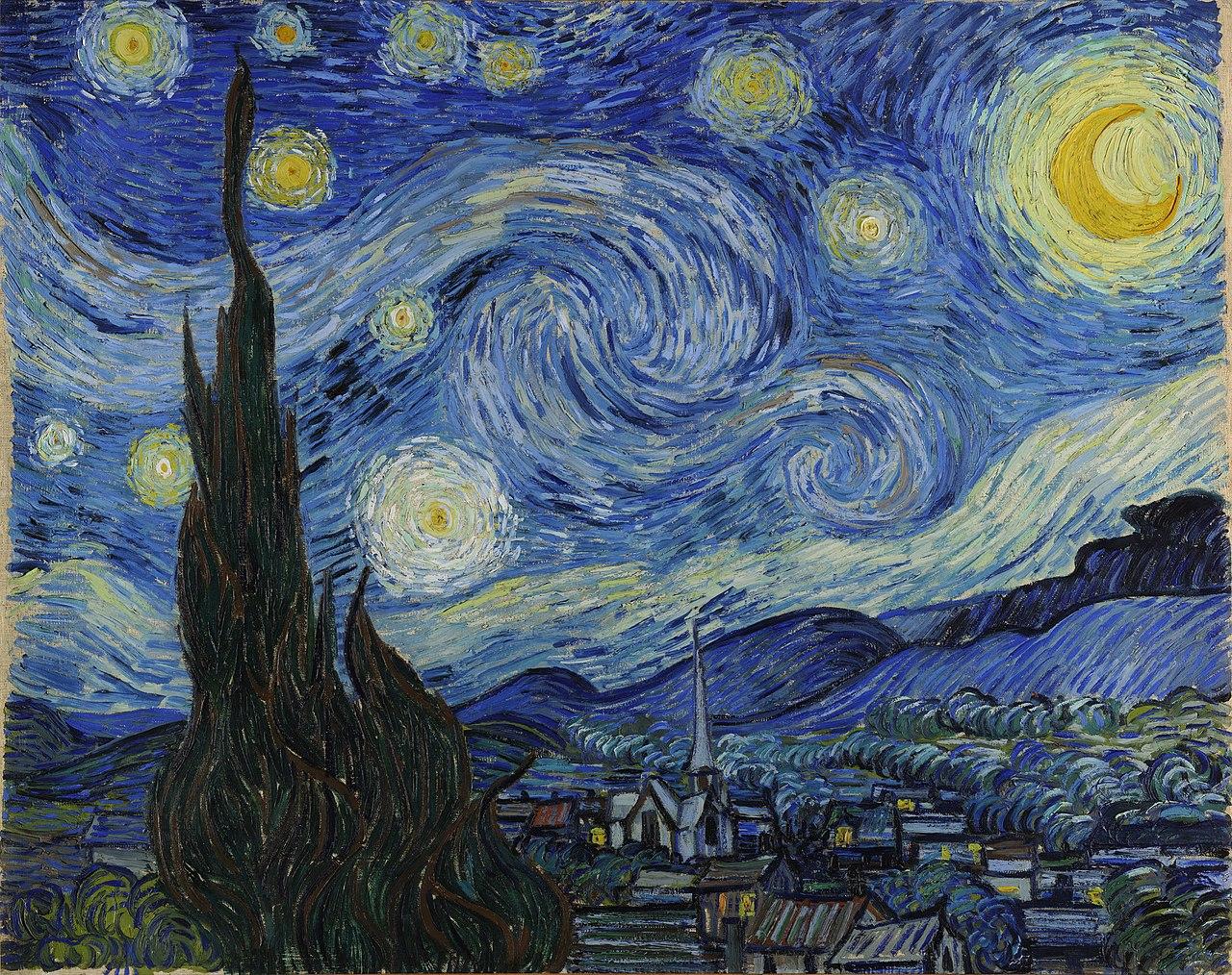 Van Gogh Csillagos éj