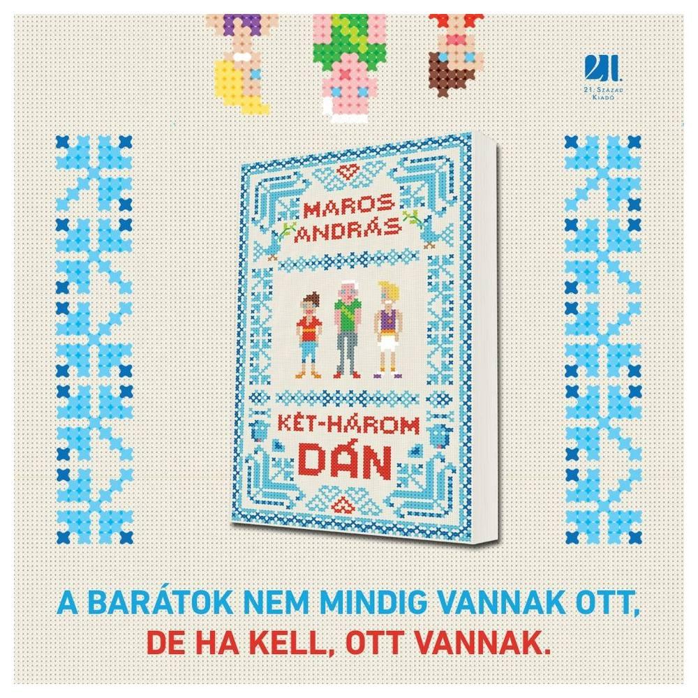 szórakoztató könyv Maros András Két-három dán