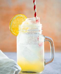 Szénsavas limonádé