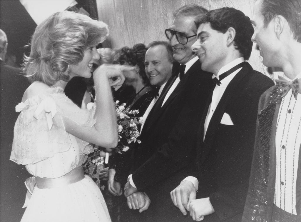 Diana és Rowan Atkinson