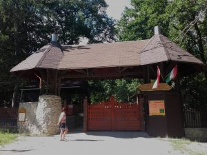 A Miskolci Vadaspark főbejárata