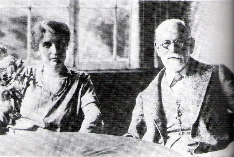Anna és Sigmund Freud