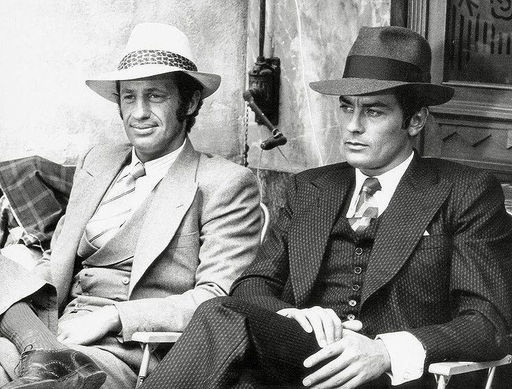 Belmondo és Delon