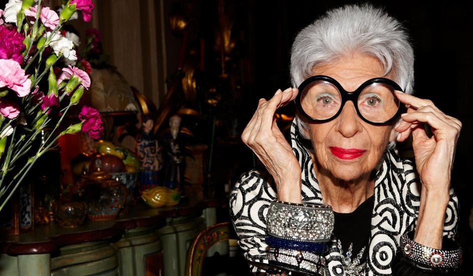 Iris Apfel-szépség-divat-ikon