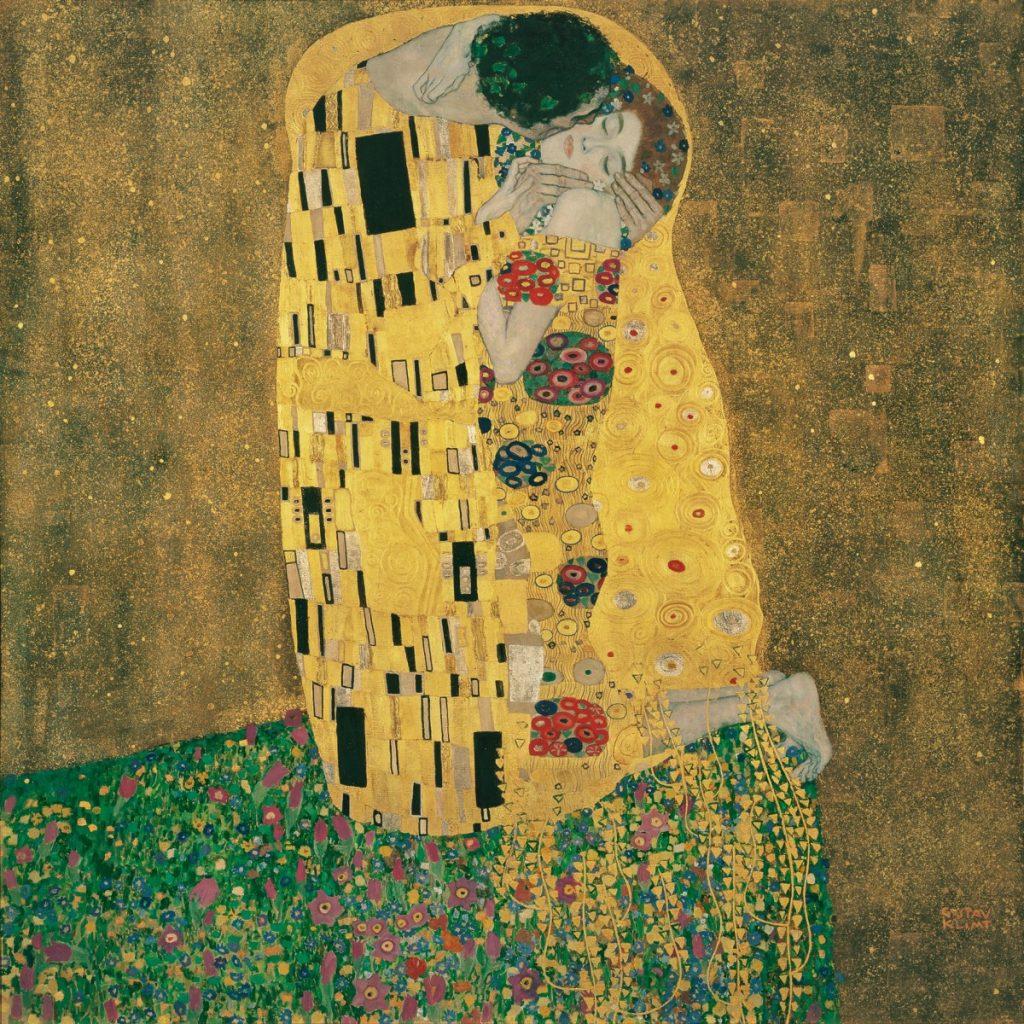 Klimt a csók